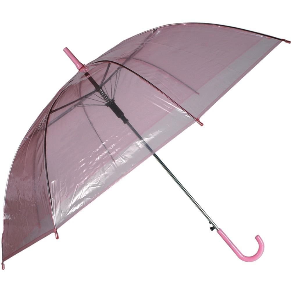 Regenschirm »Transparent II« Ø ca.88 cm Rosa