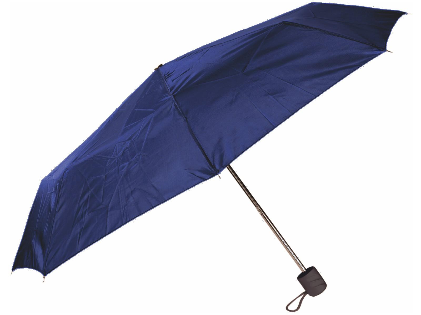 Taschen-Regenschirm Blau