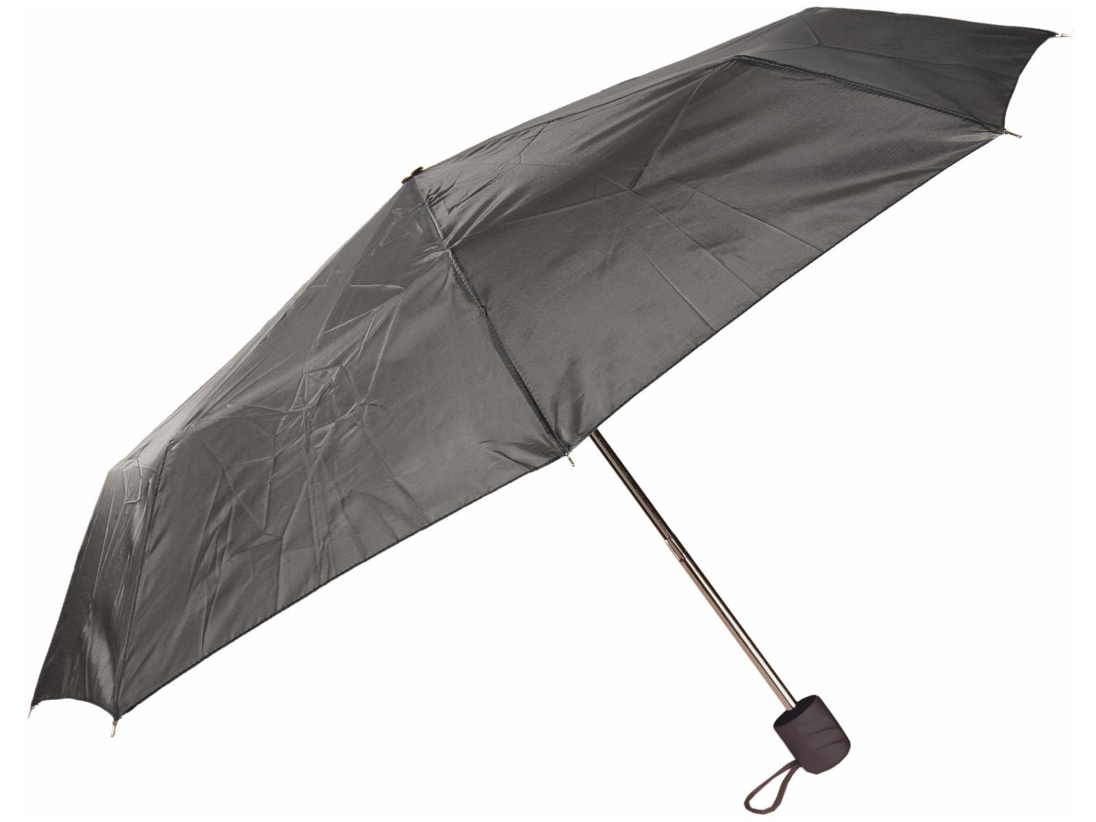 Taschen-Regenschirm Grau