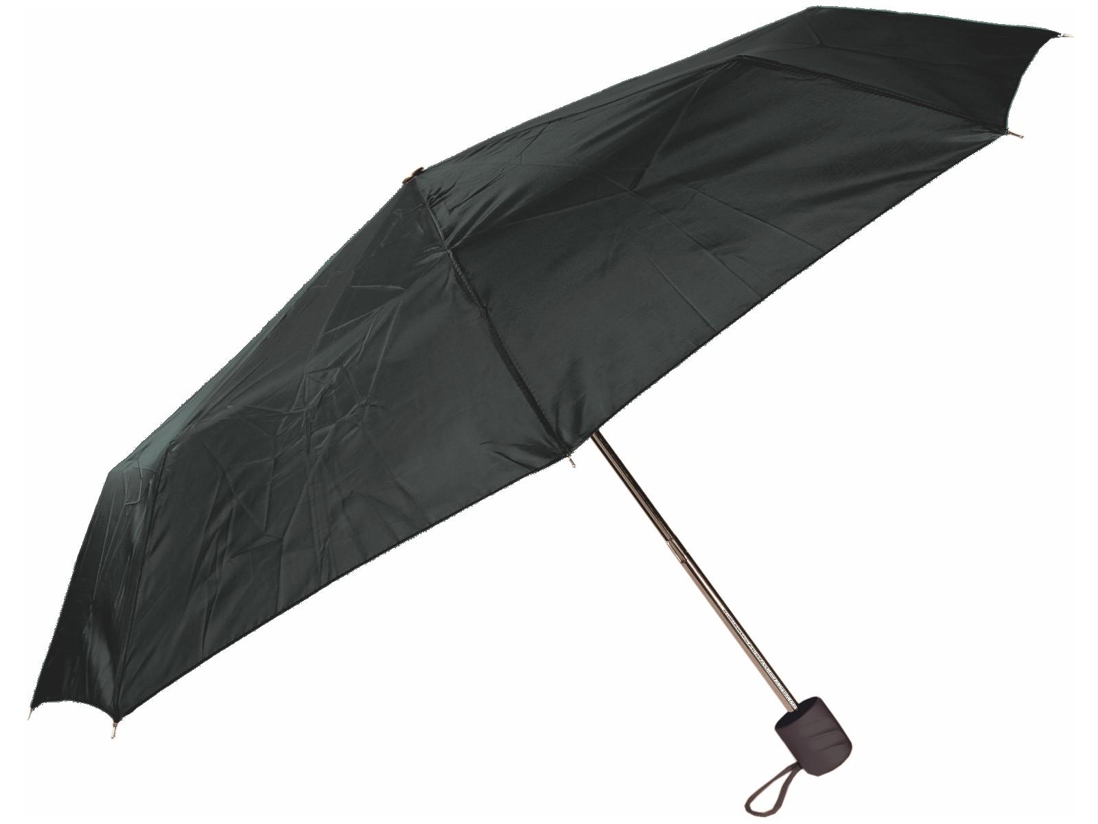 Taschen-Regenschirm Schwarz