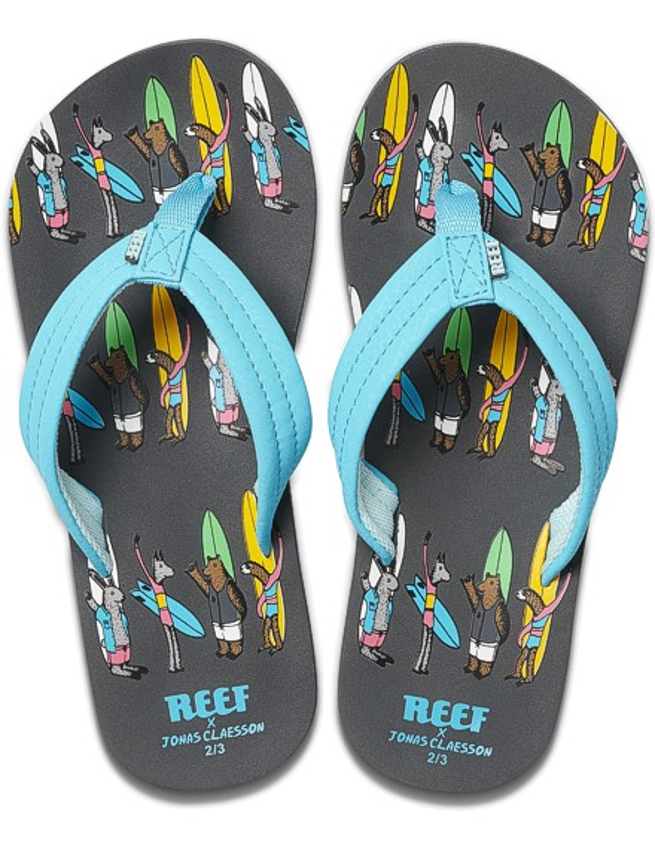 REEF Boys Kinder-Sandalen Sandels »AHI« Jonas Claesson Surfing Friends