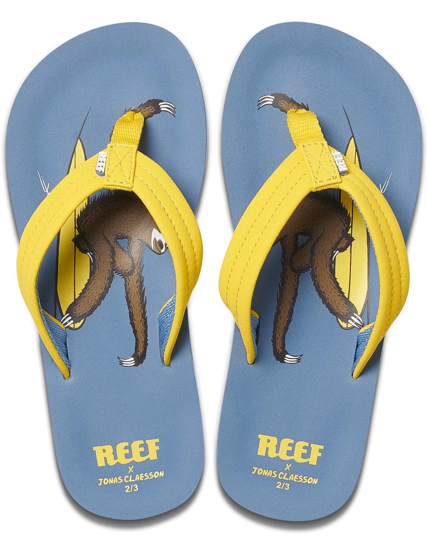 REEF Boys Kinder-Sandalen Sandels »AHI« Jonas Claesson Surfing Sloth