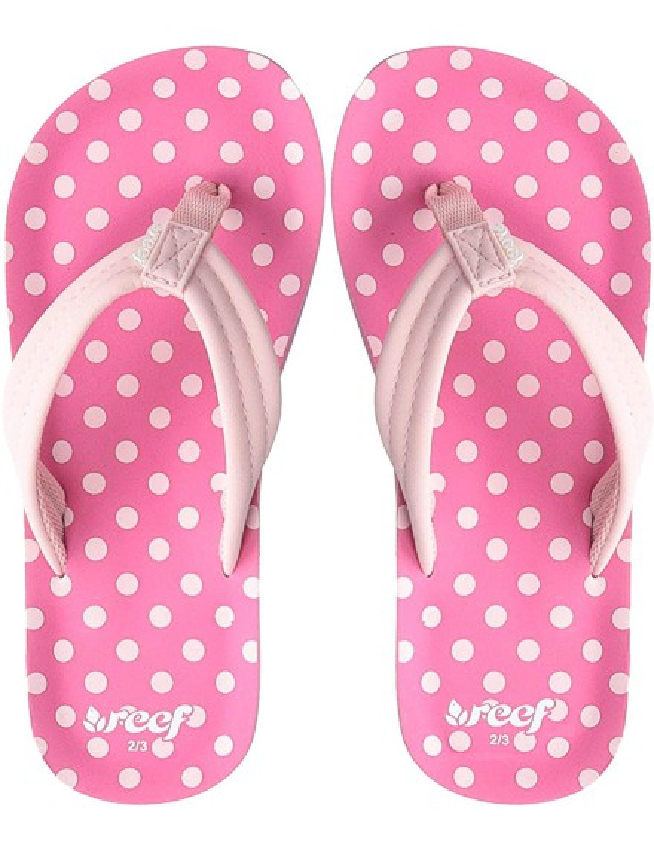 REEF Girls Kinder-Sandalen Sandels »AHI« Pink Polka Dot