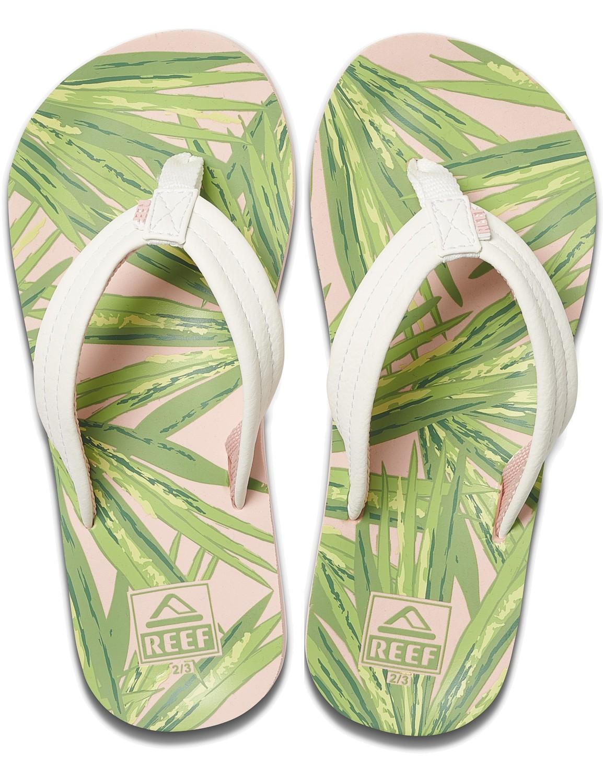 REEF Girls Kinder-Sandalen Sandels »AHI« Tropical Palms