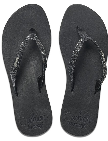 REEF Damen Sandalen Sandels »STAR CUSHION« Black Gunmetal