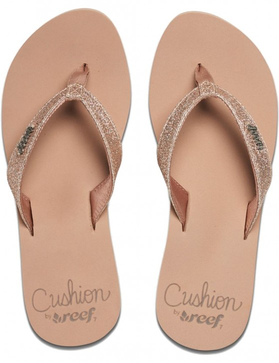 REEF Damen Sandalen Sandels »STAR CUSHION« Almond
