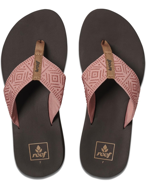 REEF Damen Sandalen Sandels »SPRING WOVEN« Dusty Coral