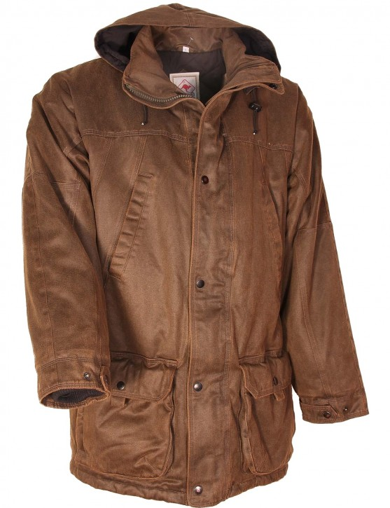 Scippis »RIVERWOOD JACKET« Herrenjacke Braun