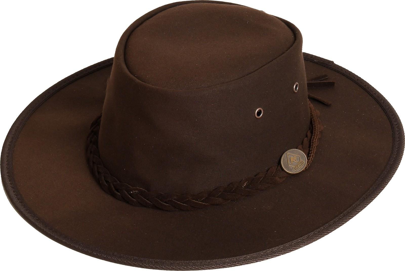 Scippis Oilskin-Hut Westernhut Cowboyhut »Gibson« Brown Braun