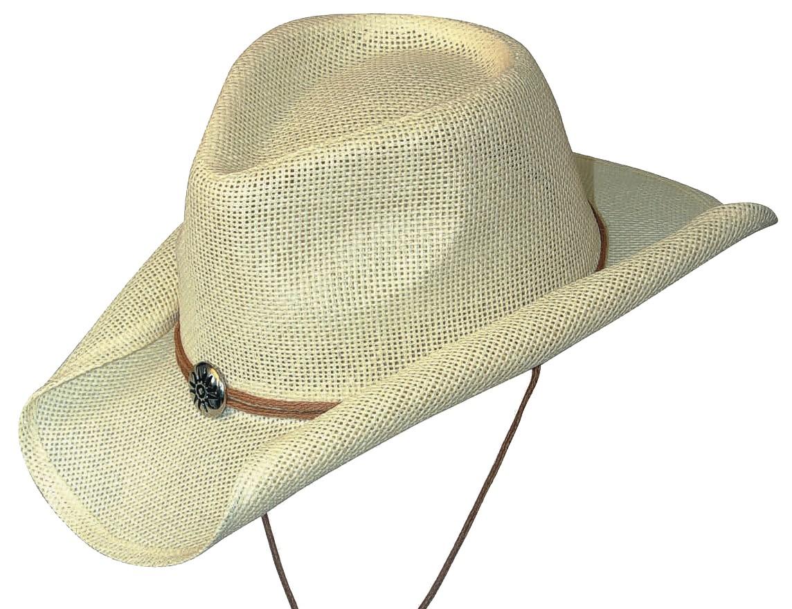 Scippis Strohhut Westernhut Cowboyhut »SUNNY« Weiß