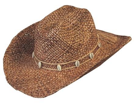 Scippis Strohhut Westernhut Cowboyhut »DROVER« Hickory