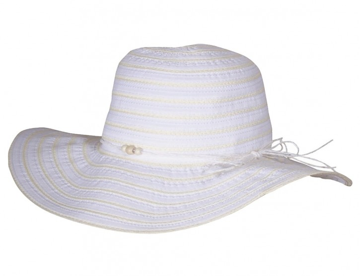 Scippis Beach Sommerhut Sonnenhut »BEHARA« White Yellow