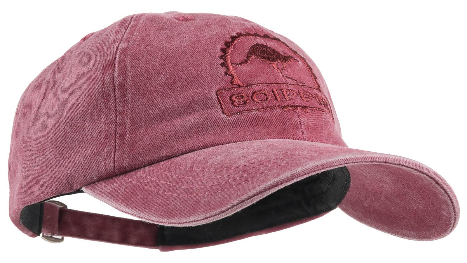 Scippis Baseball-Cap »Scippis Känguru« Burgund