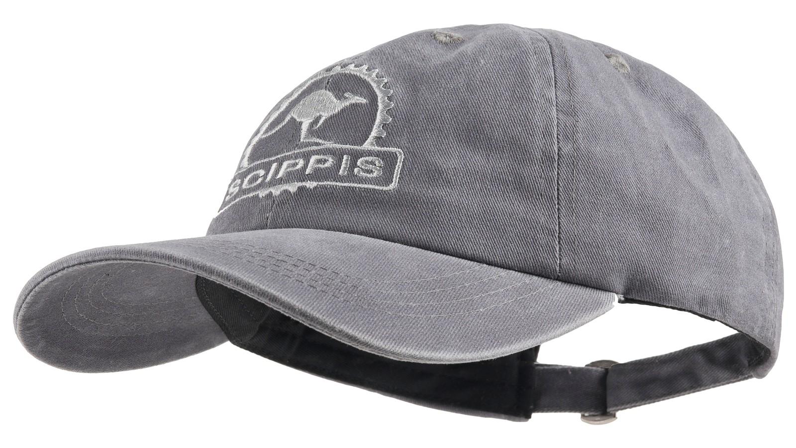 Scippis Baseball-Cap »Scippis Känguru« Grau