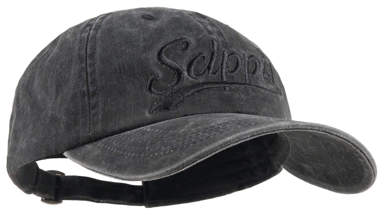 Scippis Baseball-Cap »Scippis Schriftzug« Schwarz