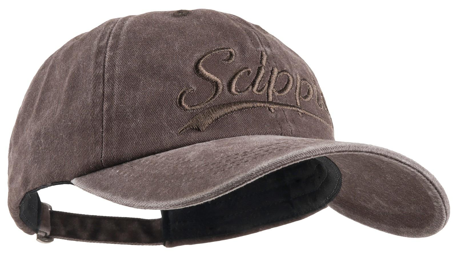 Scippis Baseball-Cap »Scippis Schriftzug« Braun