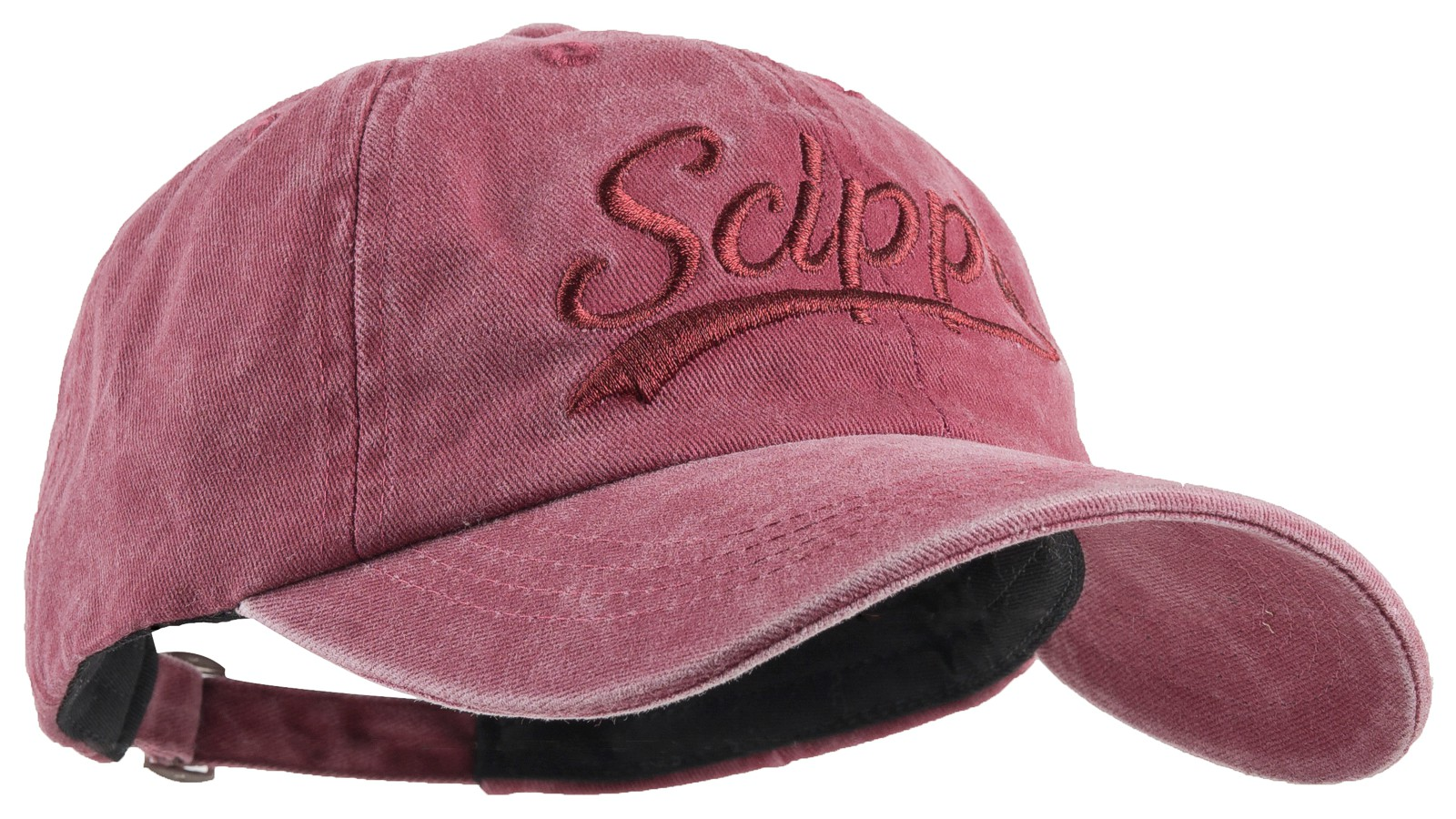 Scippis Baseball-Cap »Scippis Schriftzug« Burgund