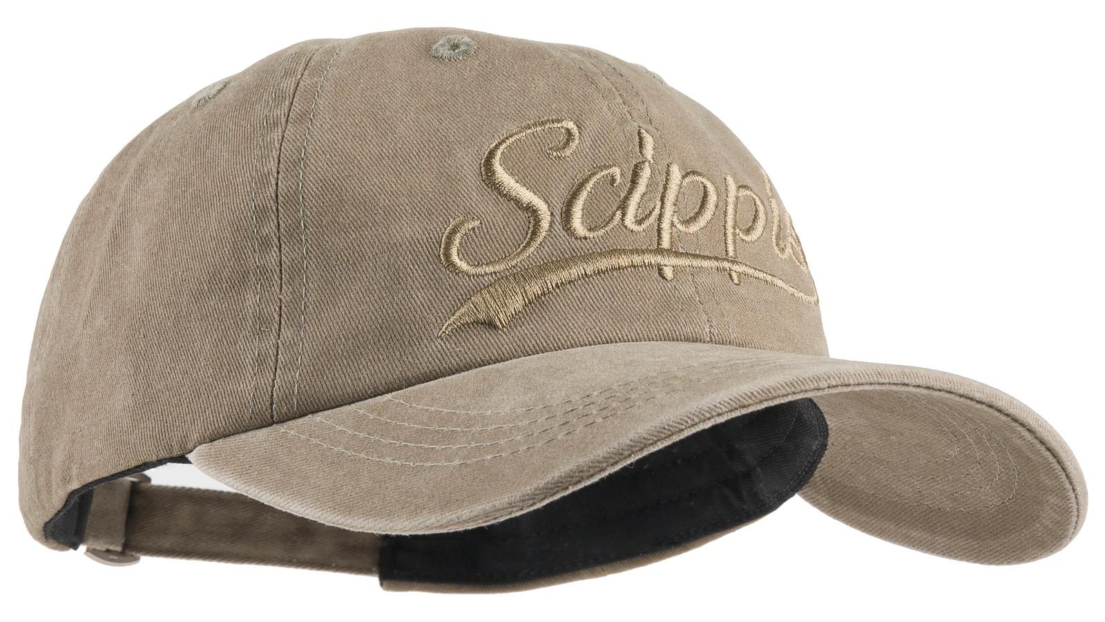 Scippis Baseball-Cap »Scippis Schriftzug« Khaki