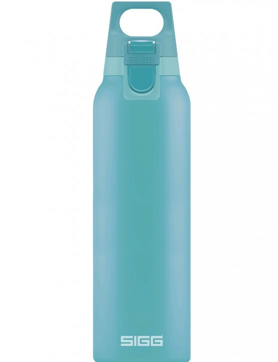 SIGG »Hot & Cold« Thermosflasche Isolierflasche 0.5 L ONE Glacier / Hellblau