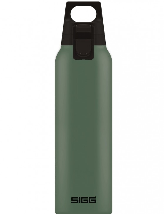 SIGG »Hot & Cold« Thermosflasche Isolierflasche 0.5 L ONE Leaf Green / Oliv Grün