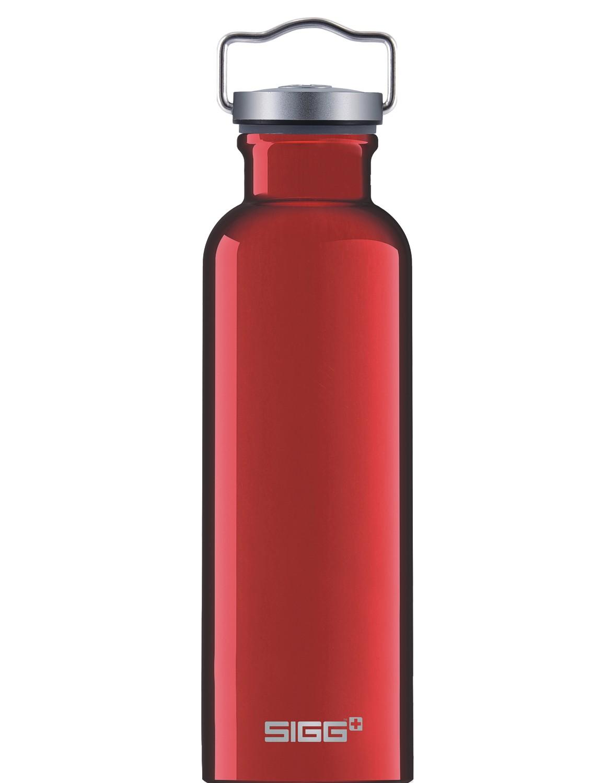 SIGG Trinkflasche 0.5 l ALU »Original« Drehverschluss Tragebügel Red Rot