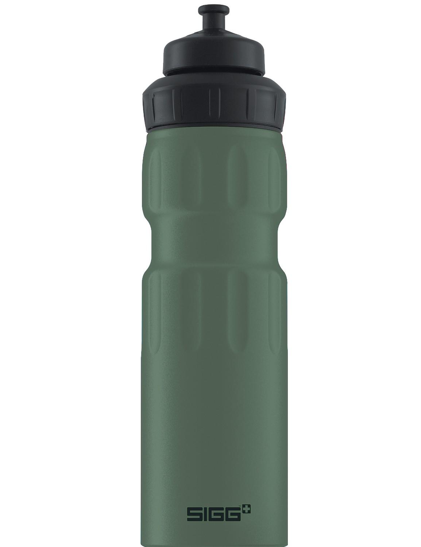 SIGG ALU Trinkflasche 0.75 l WMB »Sports« Leaf Green Oliv Grün