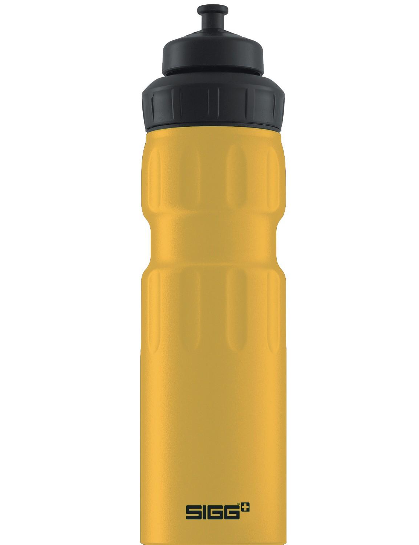 SIGG ALU Trinkflasche 0.75 l WMB »Sports« Mustard Dunkelgelb