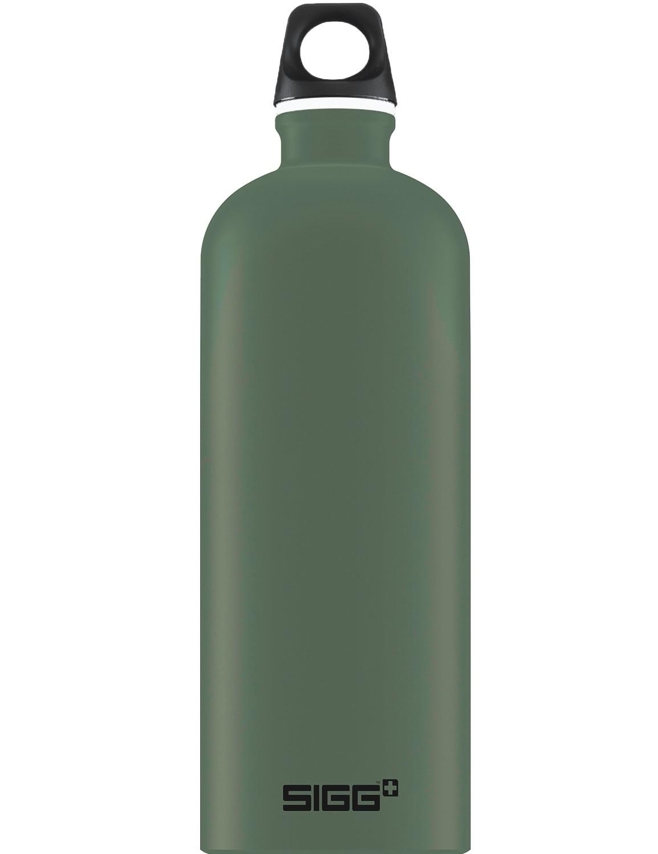 SIGG Trinkflasche 1.0 l ALU »Traveller« Leaf Green