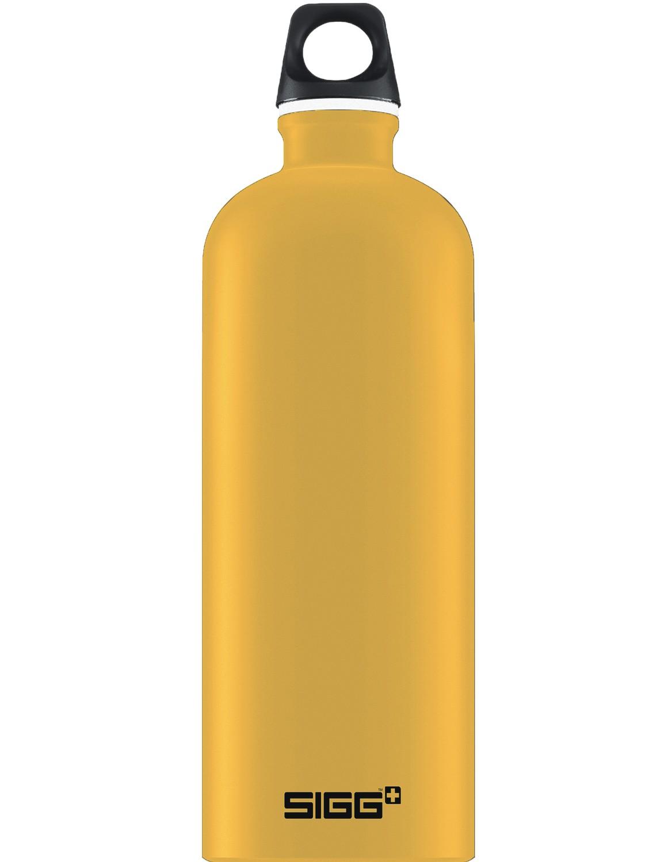 SIGG Trinkflasche 1.0 l ALU »Traveller« Mustard Touch