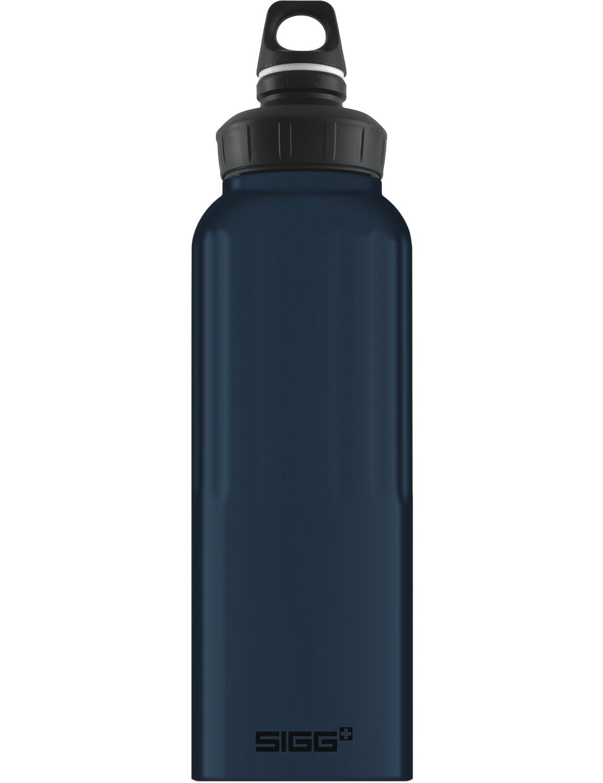 SIGG Trinkflasche 1.5 l WMB ALU »Traveller« Dark Touch Nachtblau