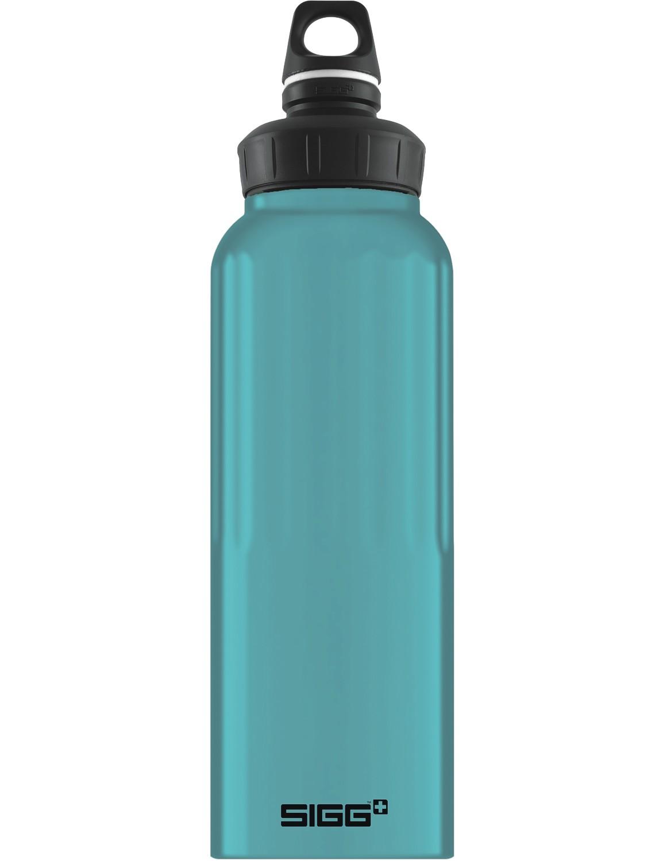 SIGG Trinkflasche 1.5 l WMB ALU »Traveller« Denim Touch Hellblau