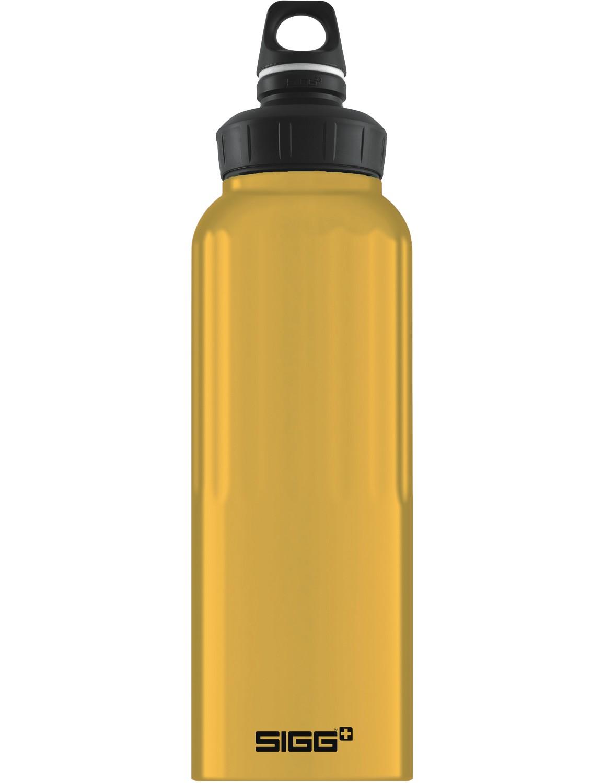 SIGG Trinkflasche 1.5 l WMB ALU »Traveller« Mustard Touch Dunkelgelb