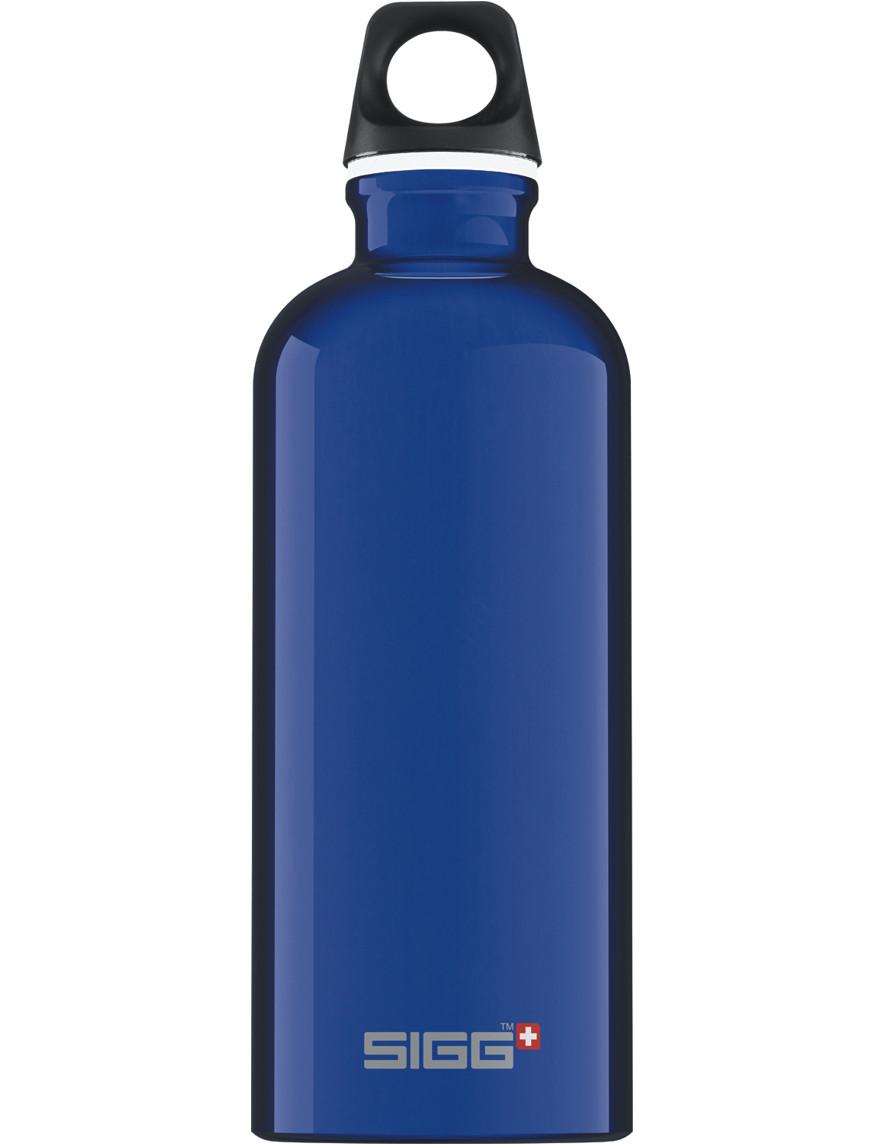 SIGG Trinkflasche 0.6 l Traveller Dunkelblau