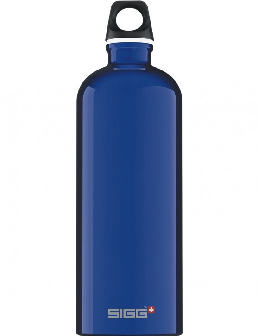 SIGG Trinkflasche 1.0 l ALU »Traveller« Dunkelblau