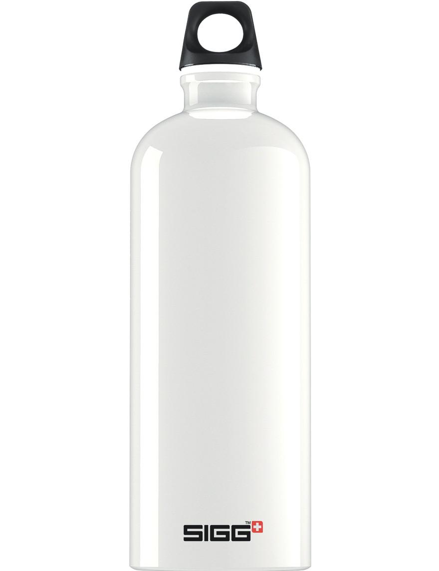 SIGG Trinkflasche 1.0 l ALU »Traveller« Weiß
