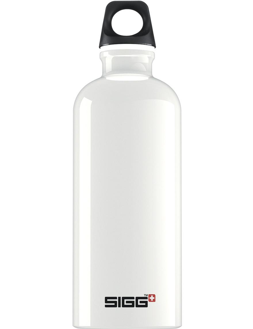 SIGG Trinkflasche 0.6 l Traveller Weiß