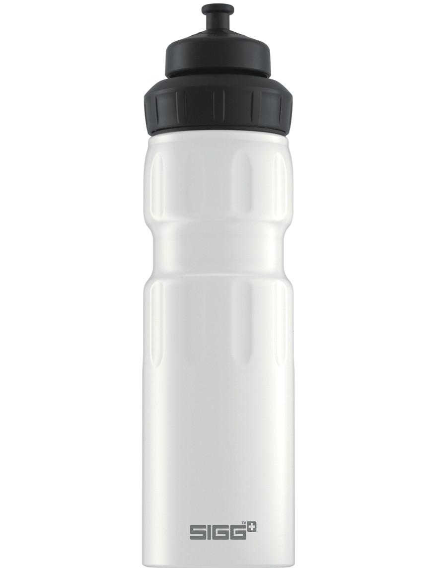 SIGG ALU Trinkflasche 0.75 l WMB »Sports« White Weiß