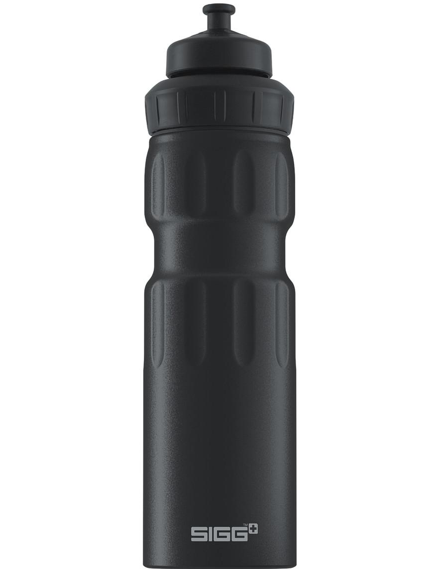 SIGG ALU Trinkflasche 0.75 l WMB »Sports« Black Schwarz