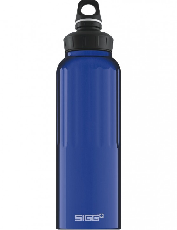 SIGG Trinkflasche 1.5 l WMB »Traveller« Dark Blue Dunkelblau