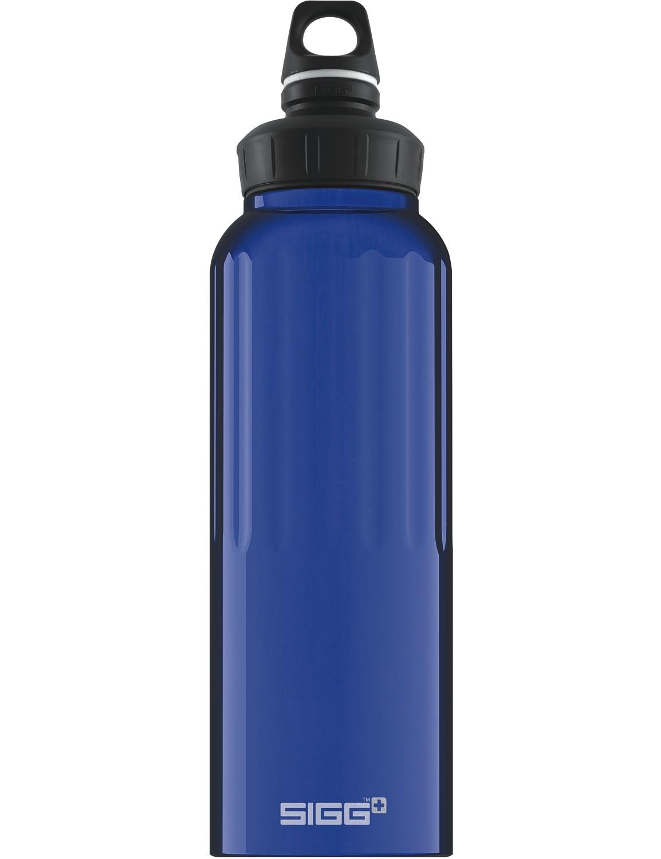 SIGG Trinkflasche 1.5 l WMB ALU »Traveller« Dark Blue Dunkelblau