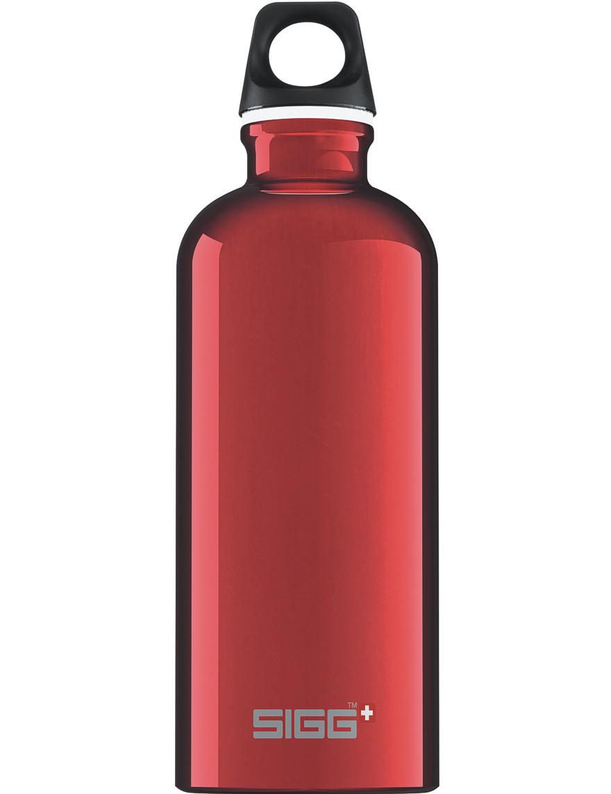 SIGG Trinkflasche 0.6 l Traveller Rot