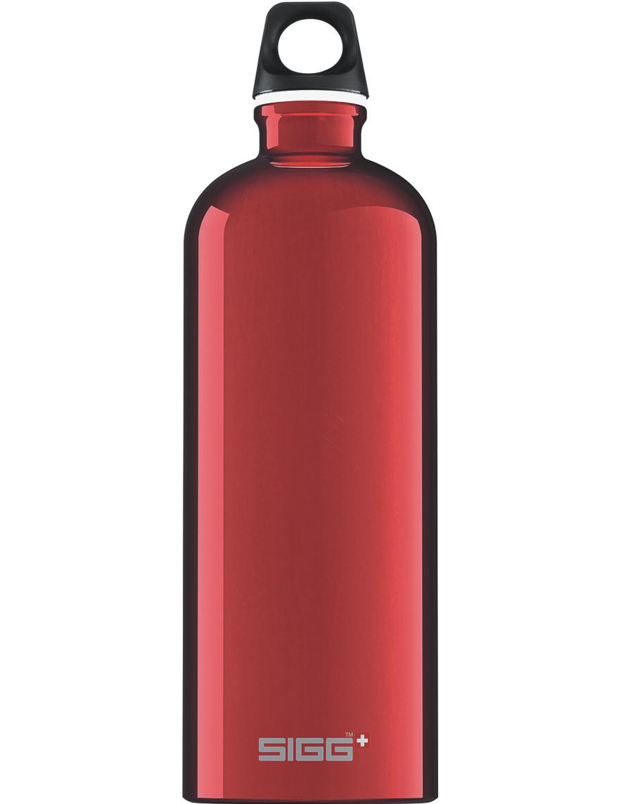 SIGG Trinkflasche 1.0 l ALU »Traveller« Rot