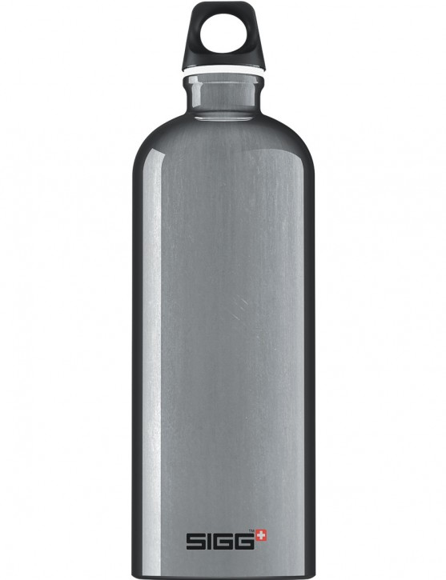 SIGG Trinkflasche 1.0 l ALU »Traveller« Silber