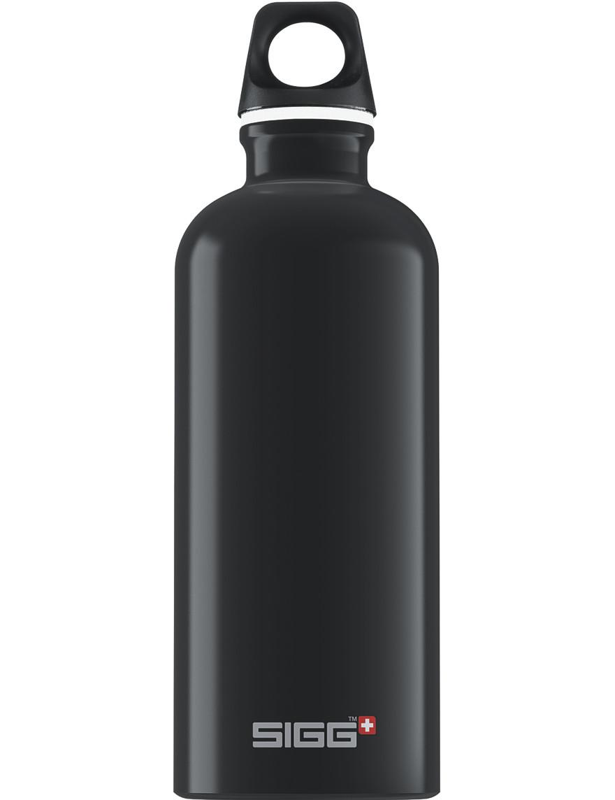 SIGG Trinkflasche 0.6 l Traveller Schwarz