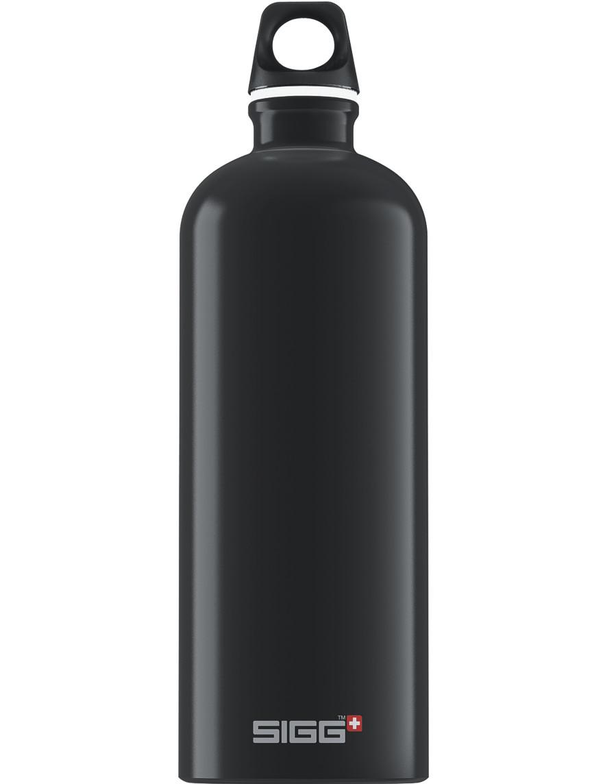 SIGG Trinkflasche 1.0 l ALU »Traveller« Schwarz
