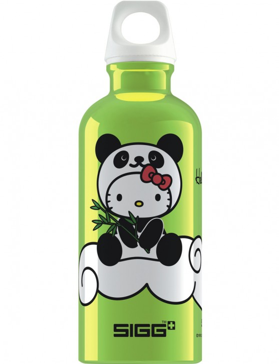 SIGG Trinkflasche 0.4 l Hello kitty Panda Lime