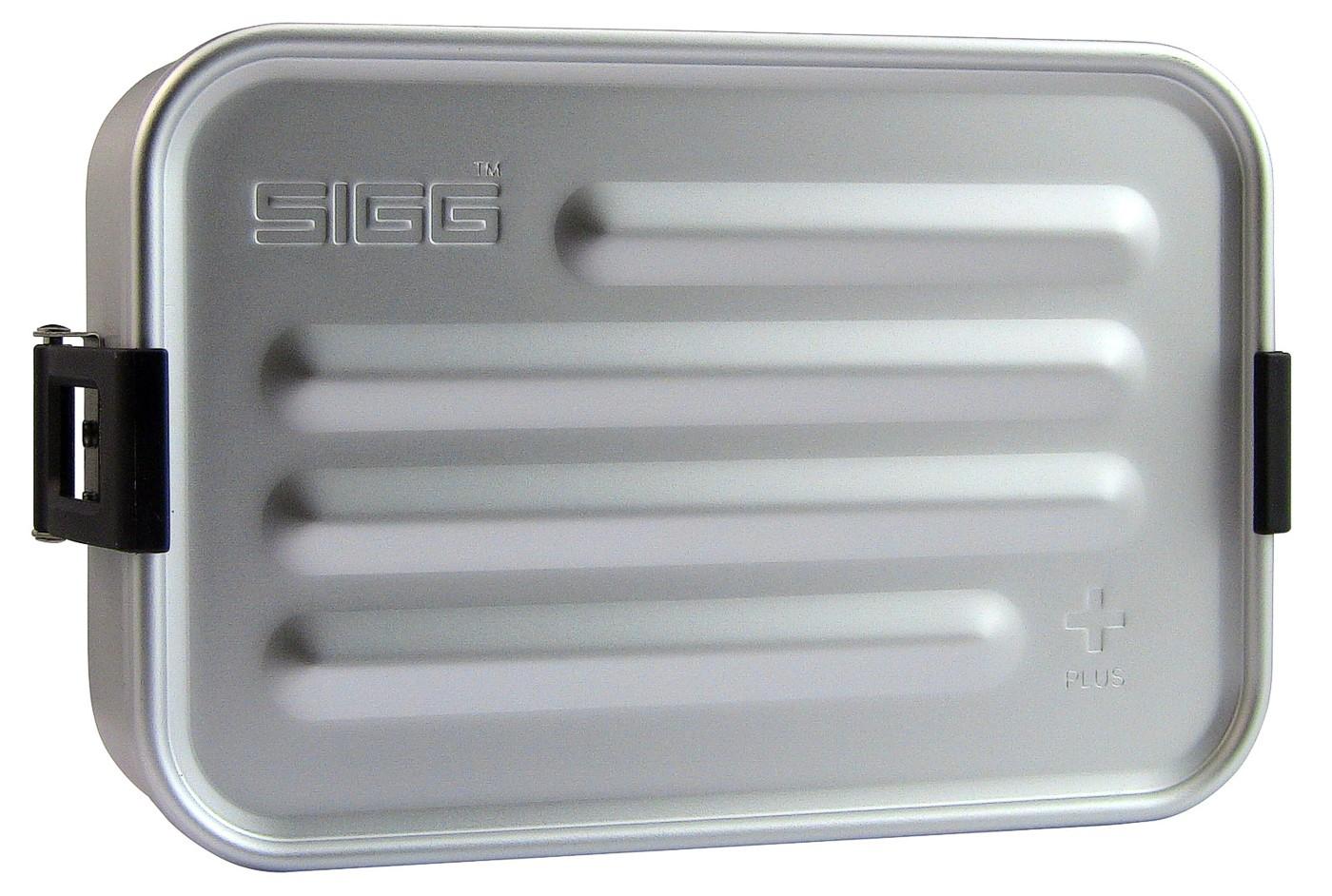 SIGG Aluminium Alu Box Dose PLUS S Silber