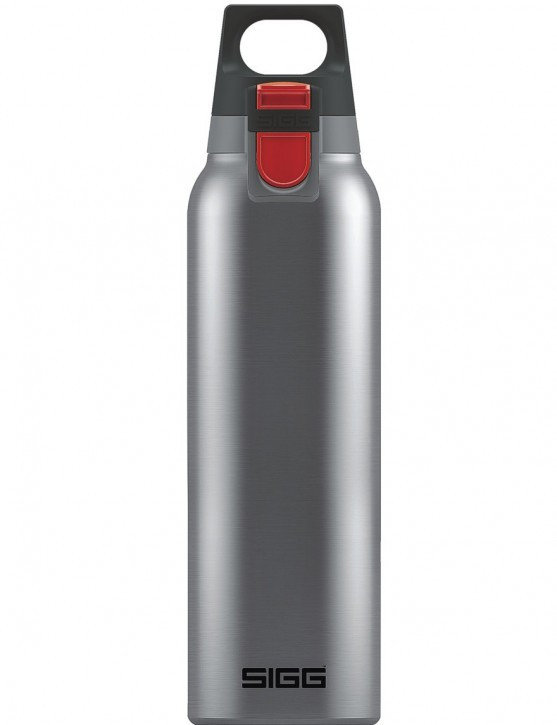 SIGG »Hot & Cold« Thermosflasche Isolierflasche 0.5 L ONE Brushed Silber