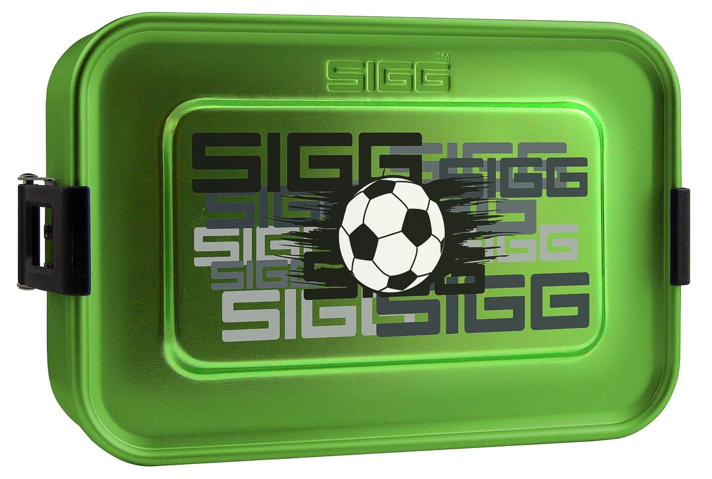 SIGG Aluminium Alu Box Dose PLUS S Fussball