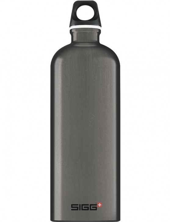 SIGG Trinkflasche 1.0 l ALU »Traveller« Smoked Pearl